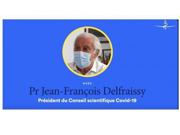 Le Pr Delfraissy explique les enjeux liés au variant delta.