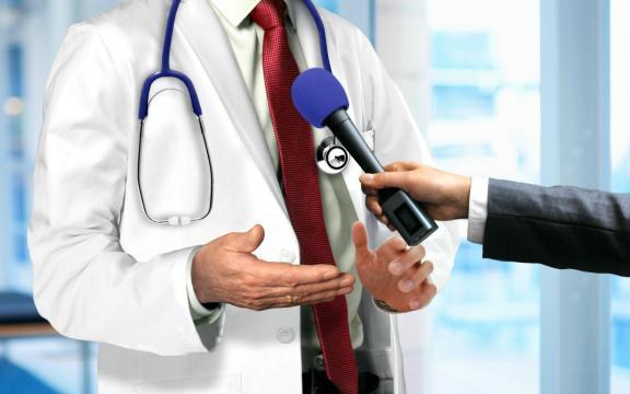 Médecin et média