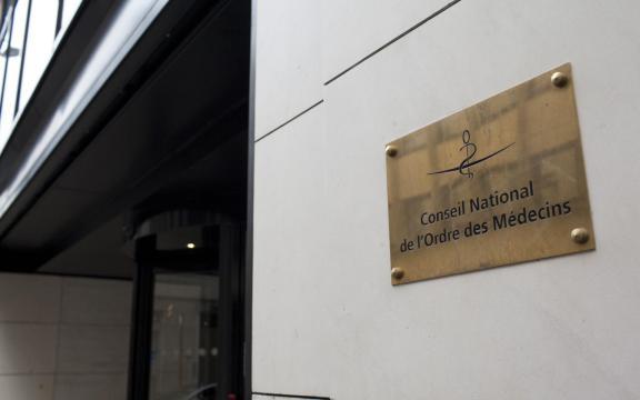 plaque accueil du conseil national de l'ordre des médecins