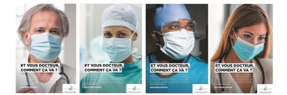Campagne auprès de l'ensemble des médecins.